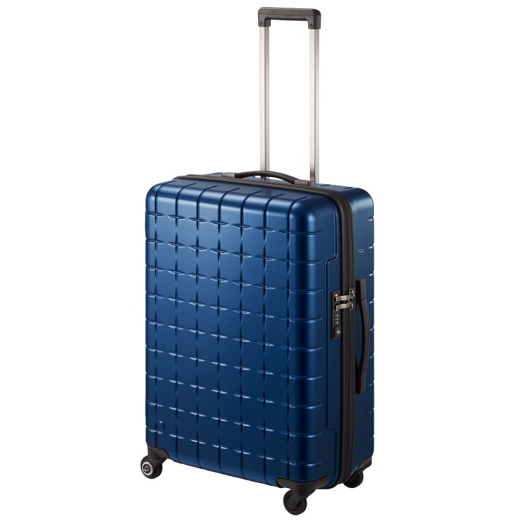 ≪Proteca/プロテカ≫ 360T メタリック スーツケース 360°オープン ジッパータイプ 63リットル 4・5泊程度の旅行に   02933