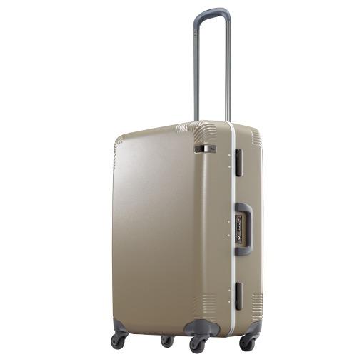 ≪ace. / カーンF≫ フレームタイプスーツケース 60リットル サイレントキャスター搭載 4~5泊程度の旅行に  日本製 04091