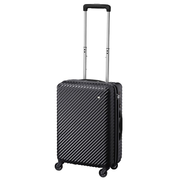≪HaNT/ハント≫マイン スーツケース 33リットル 機内持込み対応サイズ キャスターストッパー搭載 1~2泊の旅行に 05745