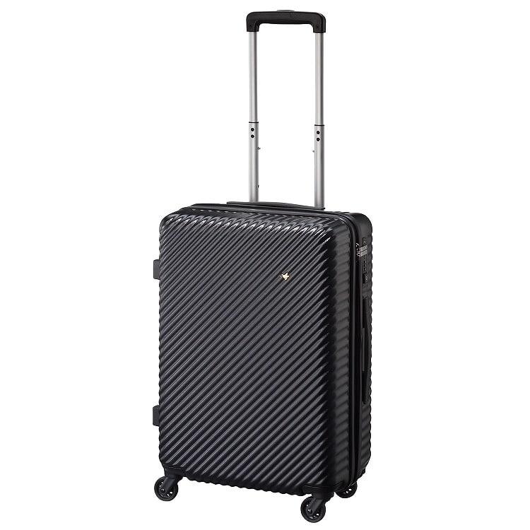 ≪HaNT/ハント≫マイン スーツケース 47リットル キャスターストッパー搭載 2~3泊の旅行に 05748