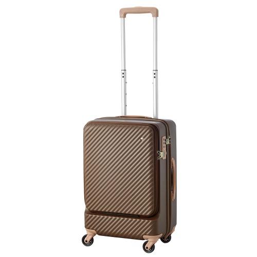 ≪HaNT/ハント≫ミオ スーツケース 34リットル 便利なフロントポケット付き 1-2泊用 機内持込み対応サイズ 05750