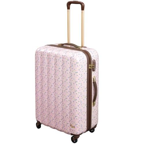 ≪カナナプロジェクト コレクション≫ステイスーツケース☆限定 サニースプリンクル柄 4~7泊程度の旅行に。66リットル  06019