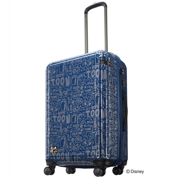 """≪ace.≫ 限定★ディズニー""""ミッキー&フレンズ""""グラフィカル スーツケース  60リットル☆4~5泊程度のご旅行向きスーツケース 06128"""