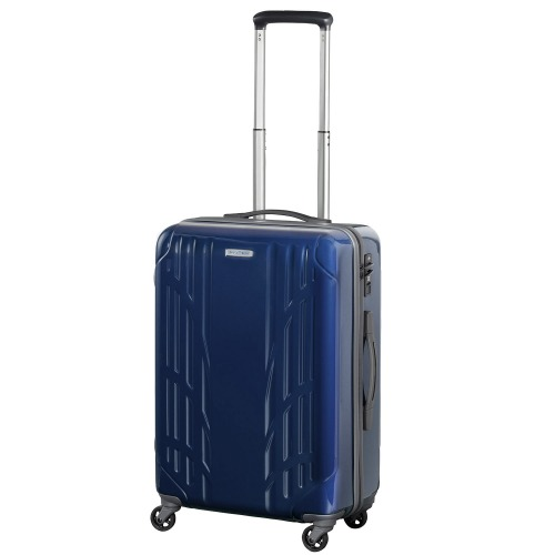 ≪ワールドトラベラー/ナヴァイオ≫ スーツケース 3、4泊程度の旅行に 便利なキャスターストッパー機能付き! 45リットル 06152