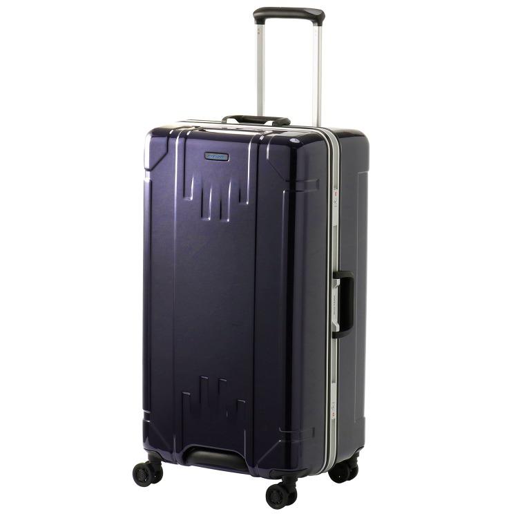 ≪World Traveler/ワールドトラベラー≫ トゥルム スーツケース タテ長スリム フレームタイプ 1週間程度の旅行に 85リットル  06413