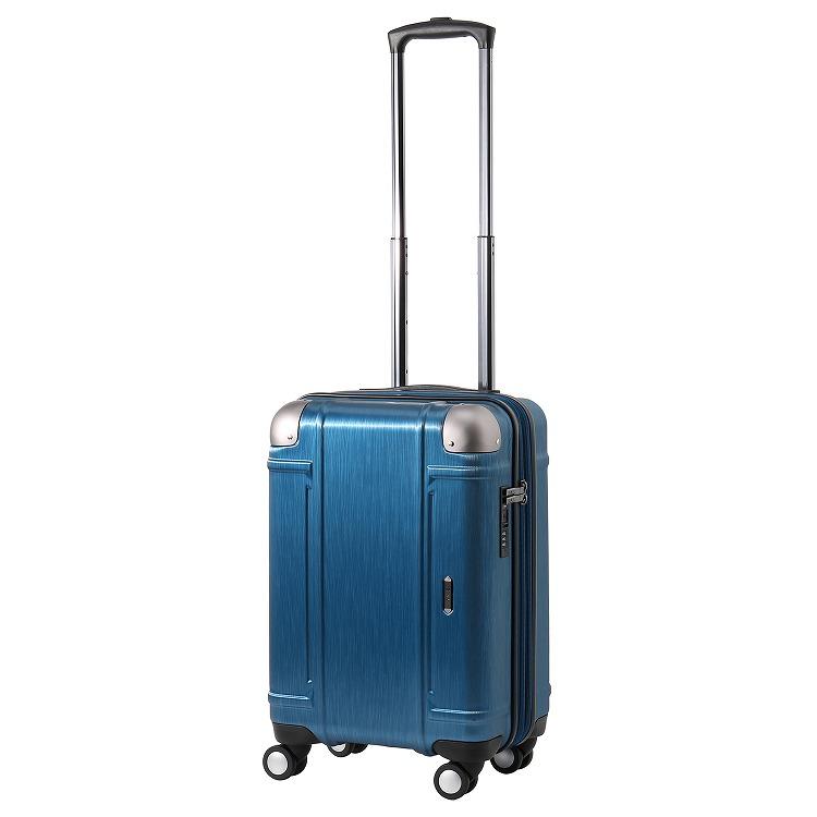 ≪Z.N.Y/ゼット・エヌ・ワイ≫ ミネオラ スーツケース 機内持ち込み対応サイズ エキスパンダブル 34→41リットル ジッパータイプ 2~3泊の旅行に 06521