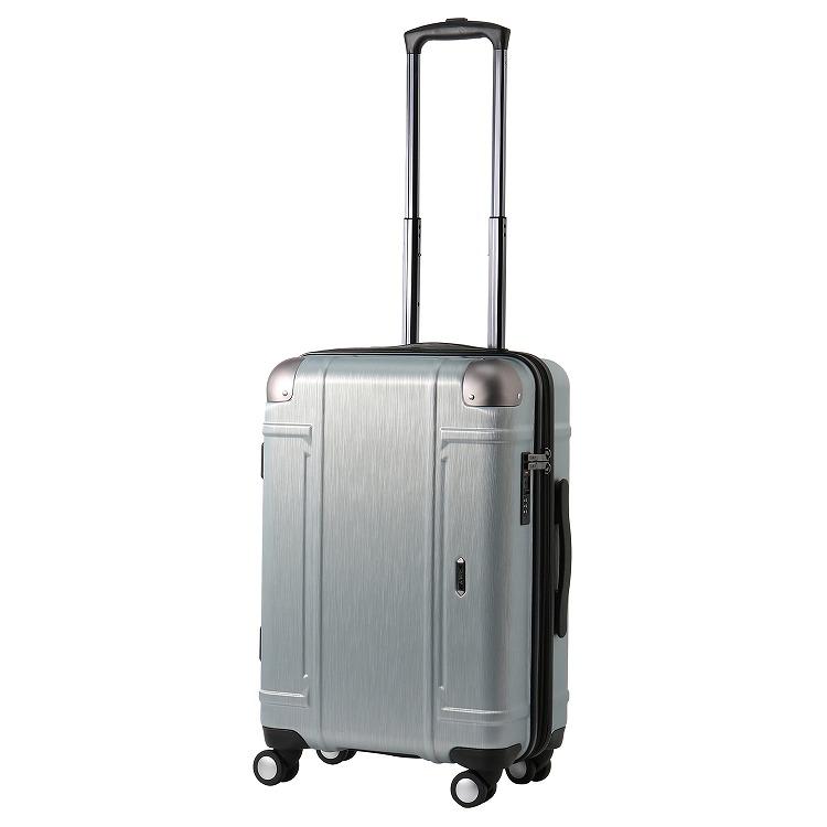 ≪Z.N.Y/ゼット・エヌ・ワイ≫ ミネオラ スーツケース エキスパンダブル 45→54リットル ジッパータイプ 3~4泊の旅行に 06522