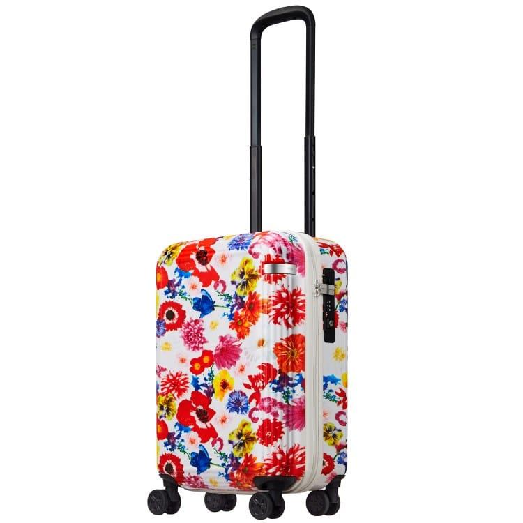 ≪ M / mika ninagawa≫ スーツケース ace.リップルz MN ジッパータイプ 35リットル 機内持込サイズ キャスターストッパー/ワイヤー式ロック搭載 2~3泊の旅行に  06561