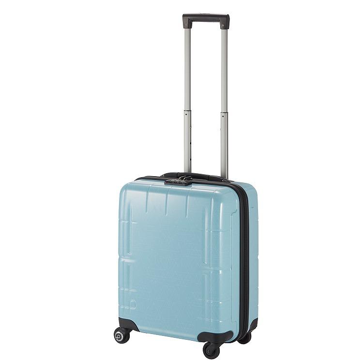 ≪Proteca/プロテカ≫ スタリアVs LTD [限定/幾何学柄プリント] スーツケース 37リットル 機内持ち込み対応 キャスターストッパー・ベアロンホイール搭載 2~3泊程度の旅行に 08911