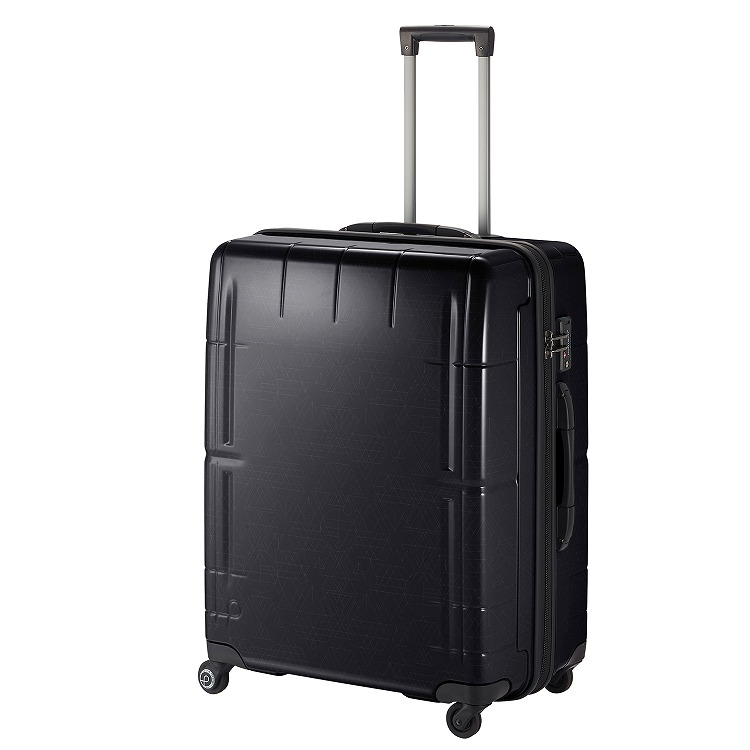 ≪Proteca/プロテカ≫ スタリアVs LTD [限定/幾何学柄プリント] スーツケース 100リットル 預け入れ手荷物国際基準サイズ最大容量! キャスターストッパー・ベアロンホイール搭載 10泊~2週間程度の旅行に 08915
