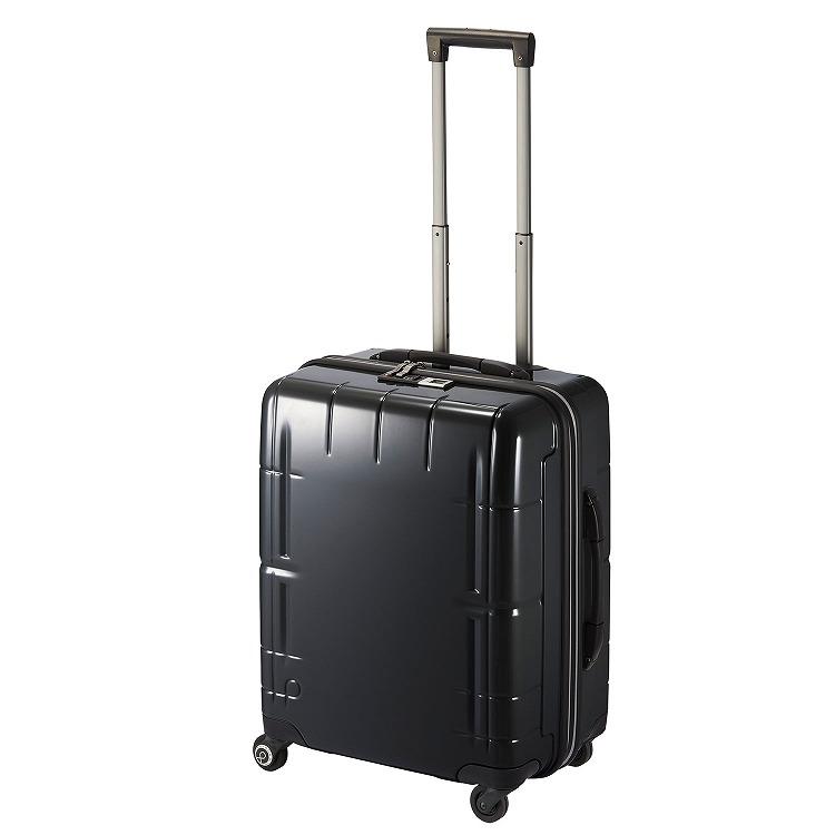 ≪Proteca/プロテカ≫ スタリアVs タッチ 指紋認証式ロック搭載 スーツケース 53リットル キャスターストッパー・ベアロンホイール搭載 3~5泊程度の旅行に  08922