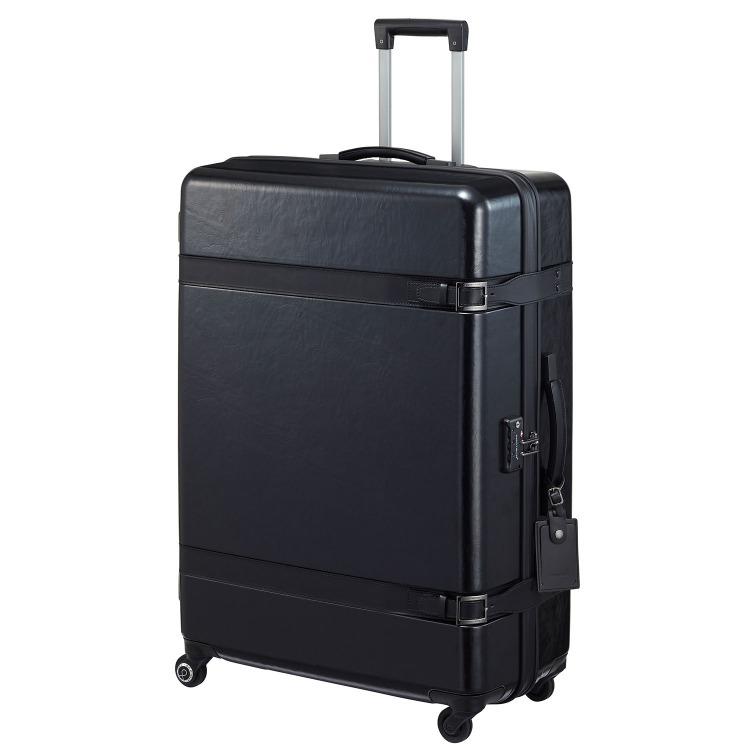 【限定 ブラックエディション】≪Proteca/プロテカ≫ ジーニオ センチュリー Z スーツケース 大型サイズ 115リットル ジッパータイプ キャスターストッパー搭載 10日間以上の長期旅行に 08953