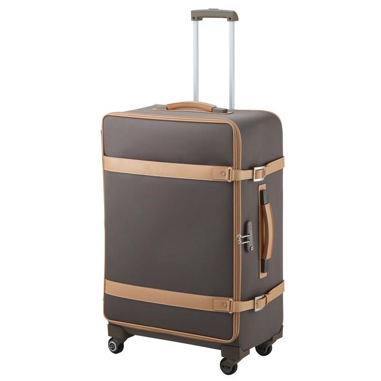 ≪Proteca/プロテカ≫ ジーニオ センチュリーソフトs キャリーケース 70リットル キャスターストッパー付き 4、5泊~1週間程度の旅行に 12813