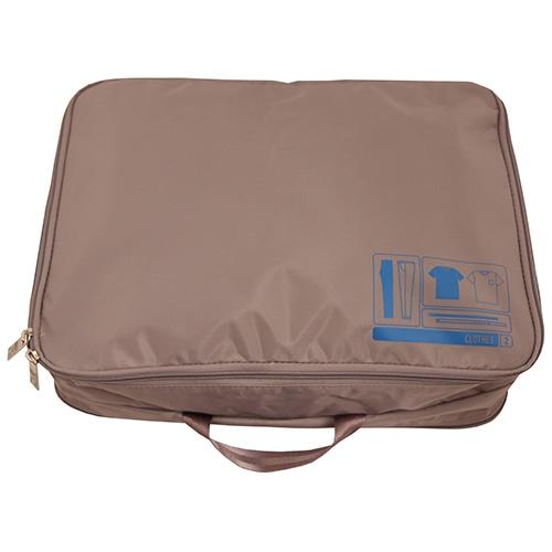 ≪F1 SPACEPAK Clothes グレー≫ パッキングバッグ 衣類ケース / 50122-09