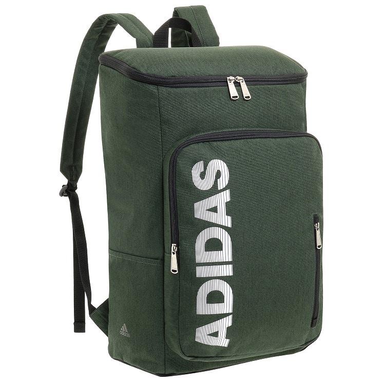 ≪adidas/アディダス≫ バックパック スクエアタイプ 29リットル B4サイズ 通学や部活動に 57416
