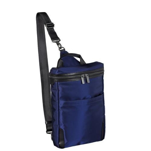 ≪ace. クロビレット≫ スリングバッグ B5ファイル収納 7.9インチタブレット収納 ボディバッグ ワンショルダー 59883
