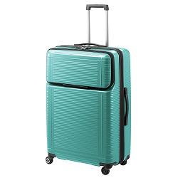 ≪Proteca/プロテカ≫ ポケットライナー スーツケース ジッパータイプ 88リットル 便利で使いやすいフロントオープンポケット 1週間~10泊程度の旅行に 01833