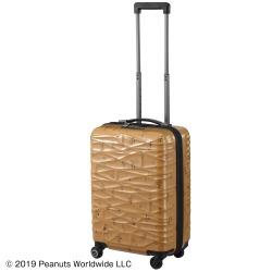 ≪Proteca/プロテカ≫ ココナ ピーナッツエディション スーツケース ジッパータイプ 36リットル 01952 国際線・国内線100席以上の機内持ち込み対応サイズ 2~3泊程度の旅行に