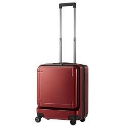 ≪Proteca/プロテカ ≫ マックスパス 3 スーツケース 40リットル 機内持込最大容量 キャスターストッパー搭載・フロントオープンポケット/静かで滑らかなベアロンホイール搭載 02961