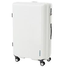 ≪Dash ホワイト 95L≫ラゲージ スーツケース トランク / 05713-06
