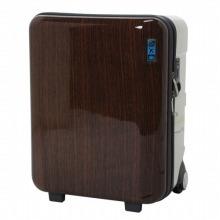 ≪Jetmor ウォールナットプリント 38L≫ラゲージ スーツケース トランク 機内持ち込み可 / 0'05787-08