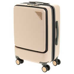 ≪JEWELNA ROSE/ジュエルナローズ≫トロトゥール ノマドステーション スーツケース(26L) ジッパータイプ 機内持ち込み 100席以上対応 1-2泊サイズ 前ポケット USBポート キャスターストッパー付き  06085
