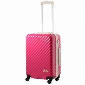 ≪Barbie/バービー≫ ブリジット スーツケース 50リットル ファスナータイプ 3~4泊の旅行に! 06372