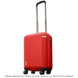 """≪ace.≫ 限定★ディズニー""""くまのプーさん""""スーツケース  32リットル☆機内持込サイズ☆2泊程度のご旅行向きスーツケース 06541"""