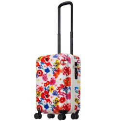≪ M / mika ninagawa≫ スーツケース 限定 ace.リップルz MN LTD ジッパータイプ 35リットル 機内持込サイズ キャスターストッパー/ワイヤー式ロック搭載 2~3泊の旅行に  06566