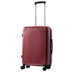 ≪ACE/エース≫ コンベクション スーツケース 46リットル ジッパータイプ 3~4泊程度の旅行や出張に 06612