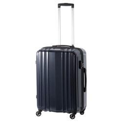 ≪World Traveler/ワールドトラベラー≫ ババロ スーツケース 54リットル 超軽量3.3kg/ジッパータイプ 3~4泊の旅行に  06622