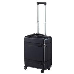 【限定 ブラックエディション】≪Proteca/プロテカ≫ ジーニオ センチュリー Z スーツケース 35リットル 機内持ち込み対応サイズ ジッパータイプ キャスターストッパー搭載 2~3泊程度の旅行に 08951