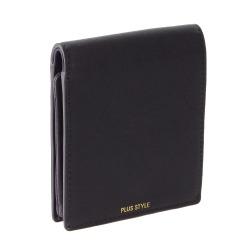 ≪PLUS STYLE/プラススタイル≫ ナスコンⅡ 二つ折り財布 本体を開けなくても小銭が使用可能! 14486