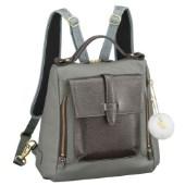 ≪Kanana project/カナナプロジェクト≫CLプレミアムレザー2☆ハンドバッグ代わりに持ちたい小ぶりサイズが上品!2way仕様のリュックサック小 31782