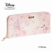≪ジュエルナローズ≫ Disney ディズニー プリンセスウォレット ラウンドファスナータイプ長財布 / 33555