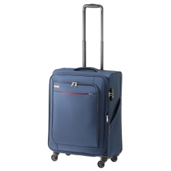 ≪World Traveler/ワールドトラベラー≫ コーモスTR キャリーケース 58→62リットル ソフトタイプ 容量が増えるエキスパンダブル機能搭載 4、5泊程度の旅行に  37032