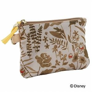 ≪ジュエルナローズ≫ トロトゥール ディズニーライン Winnie the pooh ~ Flower ~ SERIES アクセ 薄マチポーチS / 38943-05