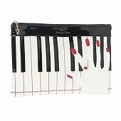 ≪ジュエルナローズ≫ JAZZY DOLL ピアノモチーフ ポーチ  / 39636-01