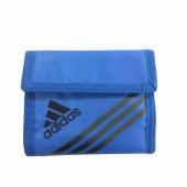 ≪adidas/アディダス≫ 三つ折り財布 マジックテープで簡単開閉 コインケース・ウォレットコード付き 47623