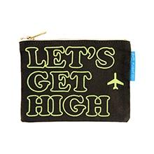 ≪定価より40%オフ!≫≪Let's Get High≫ キャンバスポーチ グリーン / 50055-04