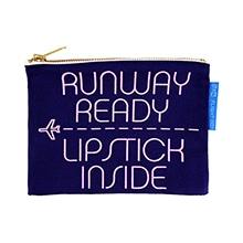 ≪Runway Ready≫ キャンバスポーチ ネイビー / 50056-03