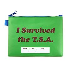 ≪定価より40%オフ!≫≪I Survived the TSA≫ ターポリンポーチ グリーン / 50064-04