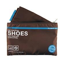 ≪定価より40%オフ!≫≪F1 Go Clean Shoes ブラウン≫ パッキングバッグ シューズケース / 50107-08