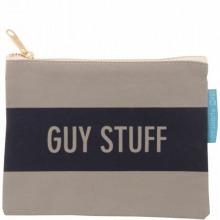 ≪Guy Stuff≫ キャンバスポーチ グレー / 50163-09