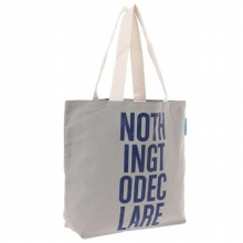 """≪Canvas Tote """"Nothing To Declare""""≫ トートバッグ キャンバストート / 50206-03"""