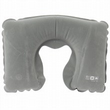 ≪AIR SUPPLIES INFLATABLE PILLOW≫ ネックピロー 首枕 グレー / 50285-09