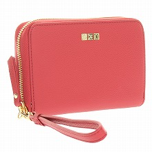 ≪F1 T5 COLLECTION TRAVEL WRISTLET WALLET≫ トラベルリストレットウォレット  レッド / 50372-10