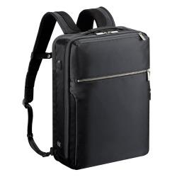 ≪ace./エース≫ ガジェタブル USBポート搭載 バックパック 15リットル B4ファイル/15インチPC対応 コンパクト設計のビジネスリュック 55537