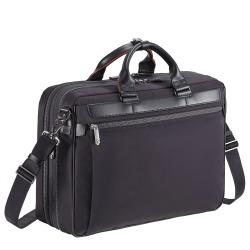 ≪ace./エース≫ ディバイドリム ブリーフケース 2気室/B4サイズ エキスパンダブル機能搭載 15インチPC対応のビジネスバッグ 55574