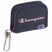 ≪Champion/チャンピオン≫ サリンジャー 二つ折り財布 ラウンドファスナー コインケース・ウォレットチェーン付き 星条旗モチーフのロゴが印象的! 57151